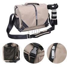 DSLR Camera Carry Shoulder Bags Messenger Bag Shockproof Waterproof Nylon Case
