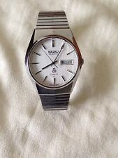 Vintage Seiko Quartz Type 2 4336 watch Made in Japan 1977