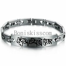 Men's Heavy Solid Stainless Steel Silver Tone Chain Link Bracelet Birthday Gifts