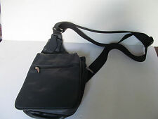 Navy Travelon Shoulder Bag with several zippered pockets - very nice