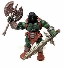 "Marvel Comics Universe SKARR son of HULK 3.75"" figure + custom weapons"
