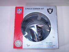 RAIDERS PLATE CUP BOWL TODDLER BABY DINNER SET SERVING WEAR TUMBLER PLATE
