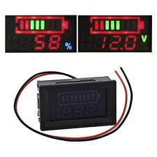 12V Lead-acid Battery Indicator Intuitive Voltage Display LED Display Meter TMPG
