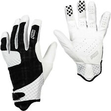 Pow Gloves Rake Glove - Men's XL Extra Large White Plaid - Mountain Bike BMX