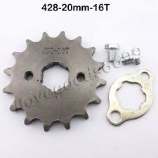 428 16 Tooth 20mm Front Engine Drive Sprocket Lifan YX Loncin Zongshen Pit Bike