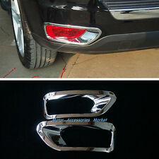 Chrome Rear Fog Light Lamp Cover Trim for JEEP Compass 2011 2012 2013 2014 2015