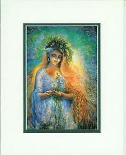 Lady Galadriel by Josephine Wall open edition matted print fits 8x10 frame