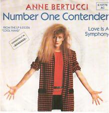 "644  7"" Single: Anne Bertucci - Number One Contender / Love Is A Symphony"