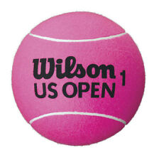 "WILSON US OPEN JUMBO TENNIS BALL NEW WITHOUT BOX DEFLATED 9"" (PINK)"