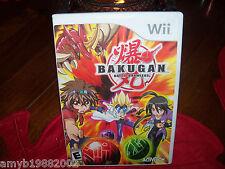 Bakugan Battle Brawlers Game (Wii, 2009) EUC