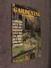 VINTAGE Maco Outdoor Living Series GARDENING GUIDE BOOK - Mary Arny - FREE Shpg!
