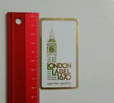 Aufkleber/Sticker: London Label 1670 (080616180)