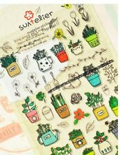 Gardening Spring Mix Stickers - Kawaii Scrapbooking Filofax Cute Deco Suatelier