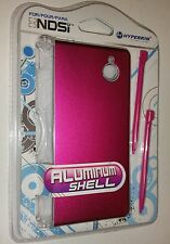 NEW Sealed Pink Aluminum Shell with 2 Stylus Pens for Nintendo DSi Hyperkin