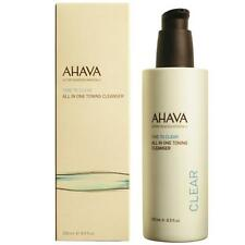 AHAVA ALL IN ONE TONING CLEANSER TONER AND MAKEUP REMOVER 3 IN 1 CLEANSER 250ML