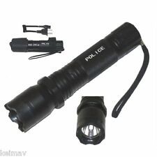 Rechargeable Tactical Flashlight (Black)