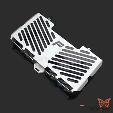 Silver Radiator Water Cooler Protector Grill Guard Cover For BMW F650GS 2008-12