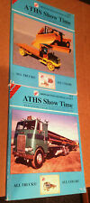 ATHS Show Time THE TENTH & Eleventh Collector's Special Issue 2003/2004 EDITIONS
