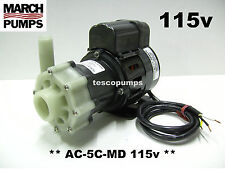 March pump  AC-5C-MD  115v  1020 gph   Replacement pump for Cruisair PMA1000