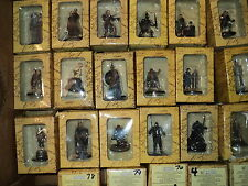 Lord of the Rings Figures  eaglemoss  Issue 1 to 100 yes figures collection USED