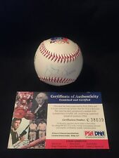 Vida Blue Authentic Autographed MLB Stat Baseball! PSA/DNA Authenticated!