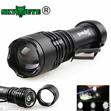 Super Bright 5000LM Q5 14500 3 Modes ZOOMABLE LED Flashlight Torch Taschenlampe