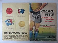 album imperia - CALCIATORI 1965 - 1966- incompleto, presenti 226 fig. su 270