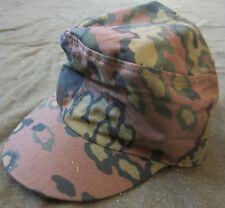 WWII GERMAN WAFFEN INFANTRY M43 OAK B CAMO COMBAT FIELD CAP-LARGE