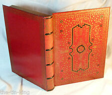 "SUPERB RARE HUNTLEY&PALMERS""RED BOOK""FIGURAL BISCUIT TIN C1930"