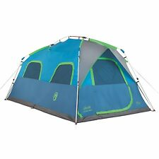 Coleman 8 Person Instant Signal Mountain Cabin Model Camping Tent  | 14' x 8'