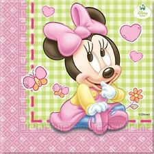 Baby Minnie Mouse 20 Luncheon NAPKINS (Party/Birthday/Kids/Disney)