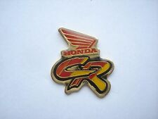 HONDA CR MOTORCYCLE OLD BIKE SIGN MOTOR RACING LOGO VINTAGE ENAMEL PIN BADGE 99p