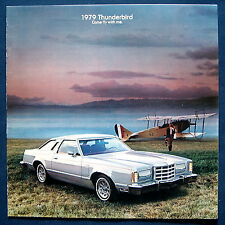 Prospekt brochure 1979 Ford Thunderbird   (USA)