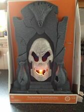 Haunted Flickering Tombstone Animated Screaming Light Up Halloween Decoration