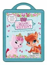 DISNEY'S PALACE PETS ROYAL KITTENS BOOK AND MAGNETIC PLAY SET BRAND NEW SEALED J