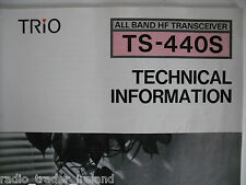KENWOOD TS-440S (GENUINE MANUAL ONLY)............RADIO_TRADER_IRELAND.