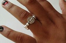 Saint Benedict ring for protection of bad vibes. evil eye and sorceries