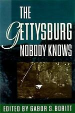 The Gettysburg Nobody Knows (1997, Hardcover) Civil War collectible by G. Boritt