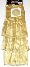 Christmas Tree Skirt 50 inches, Shimmering Gold, New w/Tag!