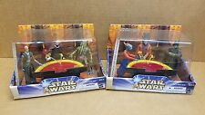 "Star Wars ""Attack of the Clones Geonosian War Room"" 2 of 2 Rare Complete Set"