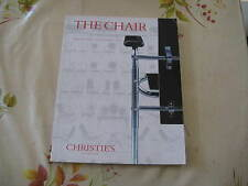 CHRISTIES CATALOGUE MODERN DESIGN THE CHAIR SALE OCT97 BREUER ARAD EAMES ++