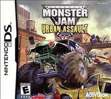 Monster Jam Urban Assault NINTENDO DS Complete Game Case Instruction Booklet