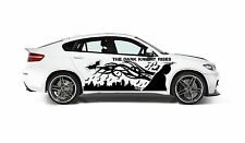 BATMAN DARK KNIGHT RISES TRIBAL DECAL GRAPHIC VINYL FOR SIDE OF CAR
