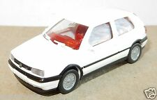 MICRO WIKING HO 1/87 VW VOLKSWAGEN GOLF GTI BLANCHE NO BOX