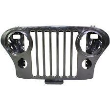 Grille For 76-86 Jeep CJ7 72-83 CJ5 Black Steel