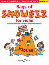 Bags of Showbiz for Violin Children Instrumental Solo Easy FABER Music BOOK