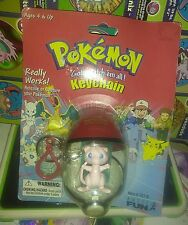 Mew Pokemon Catch and Release Rare Nintendo Keychain Figure Vintage New Sealed