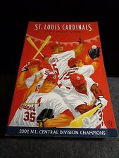 ST LOIS CARDINALS 2003 MEDIA GUIDE NL CENTRAL