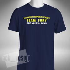 Tyson Fury boxeo T camisa el Gitano Rey peso pesado campeón del mundo