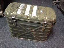 VINTAGE MILITARY MERMITE ALUMIINUM HOT COLD FOOD CAN COOLER INSULATED CONTAINER